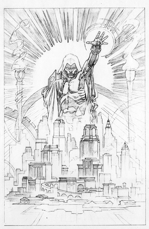 spectre vol 3 #3 cover final pencils